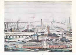 L S Lowry Industrial Landscape Postcard Unused Good Condition - Malerei & Gemälde