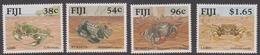 Fiji SG 831-834 1991 Mangrove Crabs, Mint Never Hinged - Fiji (1970-...)