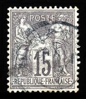 France 1876-78: N° 66 Sage (Type I) Obl. Centrage Correct Et TB - 1876-1878 Sage (Type I)