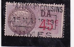 T.F.S.U N°182 II - Revenue Stamps