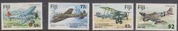 Fiji SG 873-876 1993 25th Anniversary Royal Air Force, Mint Never Hinged - Fiji (1970-...)