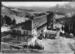 DOLOMITI - RIFUGIO ALPE DI SIUSI - PUBLIFOTO MILANO - VIAGGIATA1967 DA ALPE SIUSI - Alpinisme