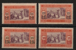 Sénégal - 1922 - N°Yv. 91 à 94 - Série Complète - Neuf Luxe ** / MNH / Postfrisch - Ungebraucht