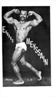 PHOTO  HOMME EN MAILLOT DE BAIN CULTURISTE CULTURISME  EVRARD MEYSSAIN PHOTO L.D. 29 X 17 CM - Sports