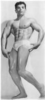 PHOTO  HOMME EN MAILLOT DE BAIN CULTURISTE CULTURISME 23.50 X 11 CM - Sports