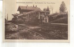 Monnetier Mornex, Le Funiculaire Des Treize Arbres - France