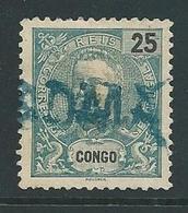 Correis Portugal Met Opdruk Congo En Stempel Boma - Congo Portugais