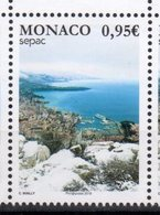 MONACO, 2018, MNH, SEPAC, SHIPS, MOUNTAINS, CITY VIEWS,  1v - Joint Issues