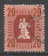 Hungary 1946. Scott #791 (U) Industry * - Oblitérés