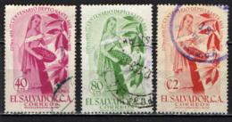 EL SALVADOR - 1956 - CENTENARIO DEL DIPARTIMENTO DI SANTA ANA - USATI - El Salvador