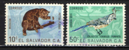 EL SALVADOR - 1963 - ANIMALI - ANIMALS - USATI - El Salvador