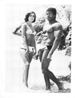 PHOTO  HOMME EN MAILLOT DE BAIN CULTURISTE CULTURISME  26.50 X 20.50 - Sports