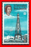 SAN CRISTÓBAL-NIEVES-ANGUILA  ( AMERICA DEL NORTE  )  STAMPS  1963 QUEEN ELIZABETH II & LOCAL MOTIFS - Anguilla (1968-...)