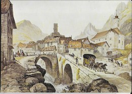 GEORGE BARNARD - 1843 POSTA DEL SAN GOTTARDO - MUSEO BERNA - Poste & Postini
