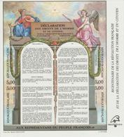 Bicentenaire De La Révolution Et De La Déclaration Des Droits De L'Homme Et Du Citoyen - Mint/Hinged