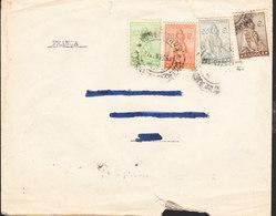 ANGOLA Lettre Du 6 Fevrier 1938 Via LYON - Angola