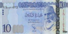 Libya 10 Dinars (P82) 2015 -UNC- - Libyen