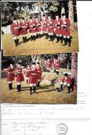 """2 Photos Originales 1963 + 1 Attestation """"LE ROYAL-FORET"""" TROMPES DE CHASSE -SAINT HUBERT- Belgique-COMBIER Imp  à MACON - Places"""