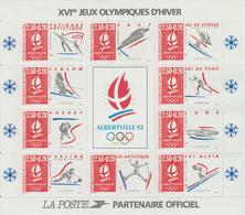 Alberville 92 Jeux Olympiques D'hiver - Mint/Hinged