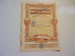Compagnie Des Tabacs Et Plantations Du Cameroun (nyombé) - Actions & Titres