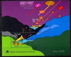 PORTUGAL. BF 56 De 1987. Centenaire Du Disque/Gramophone. - Musique