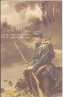 CP - SUR LE FRONT - War 1914-18