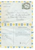 PR6433/ Entier Aérogramme 4 F C.Umsubura 22/7/1960 V.Belgique - Entiers Postaux