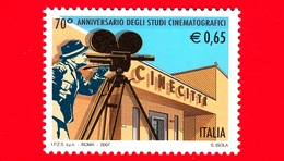 Nuovo - MNH - ITALIA - 2007 - 70º Anniversario Degli Studi Cinematografici Di Cinecittà - Ingresso - 0.65 - 2001-10:  Nuovi