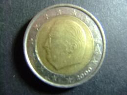 BELGICA / BELGIQUE EUROS / 2000 REY ALBERTO II - Bélgica
