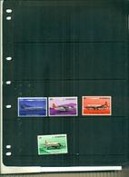 MALAWI AVIONS DE LA COMPAGNIE AIR MALAWI 4 VAL NEUFS A PARTIR DE 0.60 EUROS - Malawi (1964-...)