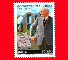 Nuovo - MNH - ITALIA - 2007 - 50º Anniversario Della Morte Di Concetto Marchesi - Acquedotto Claudio - 0.60 - 6. 1946-.. Republik