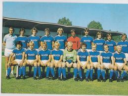 SV WERDER BREMEN LIZENZSPIELER-ABTEILUNG FUSSBALL FOOTBALL 1977/78 - Calcio