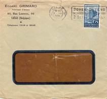 Liege >Deutschland 1935 - Storia Postale