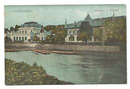 ROMANIA ,  OLD POSTCARD OF VATRA - DORNEI , CAZINOUL SI HOTELUL , 1933 . - Roemenië