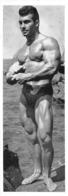 PHOTO  HOMME EN MAILLOT DE BAIN CULTURISME CULTURISTE 25 X 9 CM - Sports