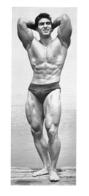 PHOTO  HOMME EN MAILLOT DE BAIN CULTURISME CULTURISTE   23 X 10.50 CM - Sports
