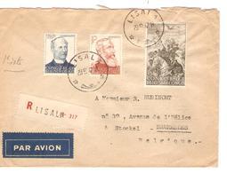 PR6435/ TP 274/276 S/L.Recommandée Avion C.Lisala 29/8/47 V.Stockel BXL Belgique - Congo Belge
