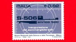 Nuovo - MNT - ITALIA - 2005 - Sommergibile Enrico Toti - Mirino Di Periscopio E Sagoma Del Sottomarino Toti - 0,62 - 6. 1946-.. Republik