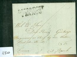 VOORLOPER * HANDGESCHREVEN BRIEF Uit 1816 Gelopen Van DORDRECHT FRANCO Naar 's-HERTOGENBOSCH (11.510) - ...-1852 Vorläufer
