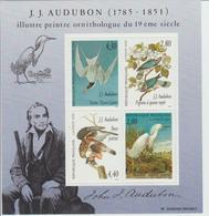 Hommage Au Peintre Ornithologue J J Audubon - Mint/Hinged