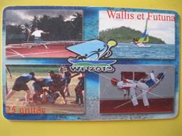 """Telecarte De Wallis Et Futuna """"2eme Choix"""" - Wallis And Futuna"""