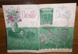 Chauffage Et Vases DEVILLE Fonderie à Charleville ( ARDENNES 08 ) Catalogue 1936 Patron Le Raincy - France