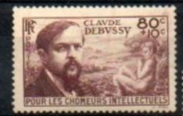 "France 1939 : Y&T** N° 437 "" Claude Debussy "" - France"