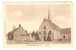CPA 28 Saint Prest L'Eglise Monument Aux Morts - France