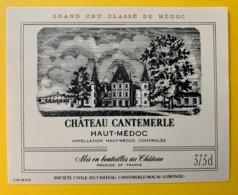 10171 - Château Cantemerle Haut-Médoc 37.5cl - Bordeaux