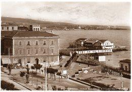 CIVITAVECCHIA - VIALE GARIBALDI E STABILIMENTO PIRGO - ROMA - VIAGGIATA - Civitavecchia