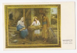 AK82 Art Postcard - Nazareth, The Holy Family - Paintings