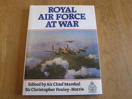ROYAL AIR FORCE AT WAR Aviation RAF England Avion Aircraft Guerre 40 45 World War 2 Aviator Spitfire Lancaster - Boeken, Tijdschriften, Stripverhalen