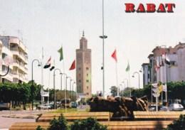 AN10 Morocco, Rabat, L'Avenue Mohammed V - Rabat