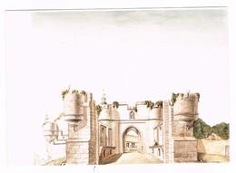 ANTOING - Le Château , Entrée (petit Bolewerk) Du XVe Siècle , Au Fond Entrée Du Grand Bolewerk - Antoing